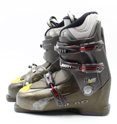 Size 11.5 Head BYS Ski Boots Mondo 29.5 Used