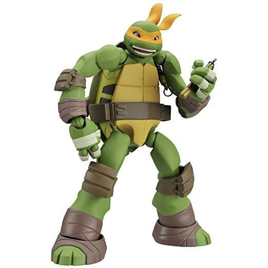 KAIYODO Revoltech Teenage Mutant Ninja Turtles Michelangelo Action Figure