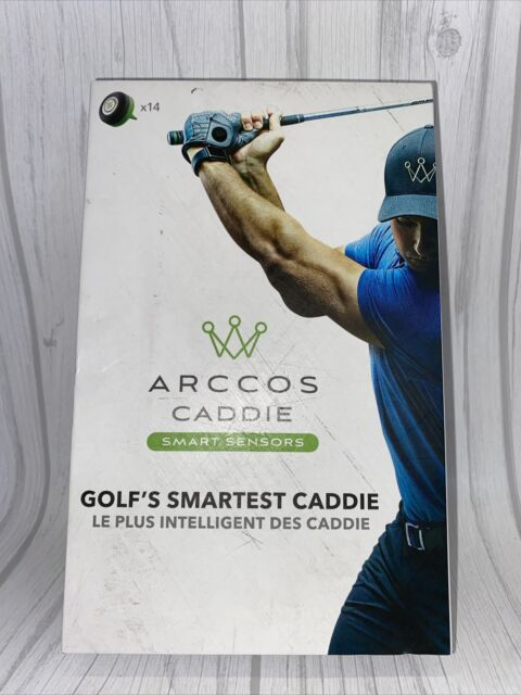 New Arccos Golf- 3rd-Generation Caddie Smart Sensors 14 Sensors, Seal In Tact!