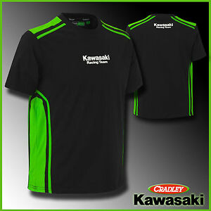 2017 kawasaki race team t shirt ebay. Black Bedroom Furniture Sets. Home Design Ideas