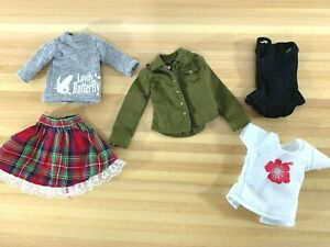 Azone-Pure-Neemo-Ruruko-clothes-outfit-LOT-skirt-shirt-Blythe-Obitsu-1-6-figure