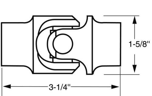 Borgeson 113421 Universal Joint