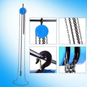1-Ton-Chain-Puller-Block-Fall-Chain-Hoist-Hand-Tools-Lifting-Chain-With-Hook-US