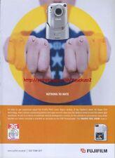 Fujifilm Finepix F601 Camera 2002 Magazine Advert #1372