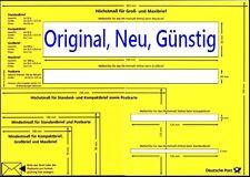 Briefschablone Formatschablone Postschablone Portoschablone Messschablone 👍NEU