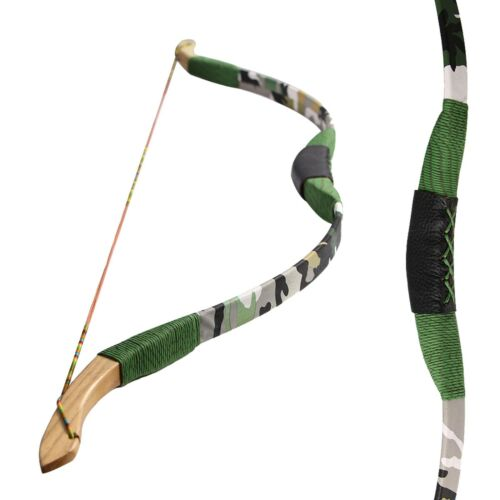 """41/"""" Tradition Recurve Bow Wooden Hunting Target Game Children Practice Longbow"""