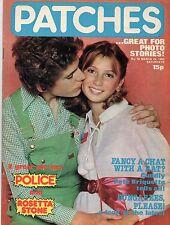 Patches Magazine 29 March 1980 No. 56  The Police  Rosetta Stone  Pete Briquette
