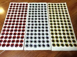 780pcs-260-gold-silver-red-color-2mm-3D-Holographic-fishing-lure-eye-fly-tying