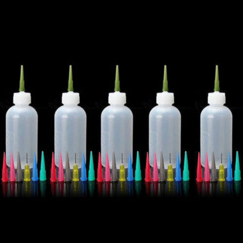 35 Nozzles Cake Decorating Craft Frosting Sauce 5X Jam Painting Squeeze Bottles
