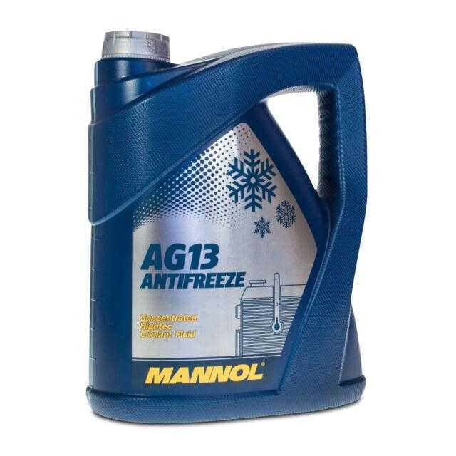 5 (1x5) Litro Mannol Anticongelante AG13 Anticongelante Concentrado Verde