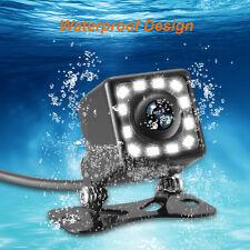 US HD 420TVL CCD Night Vision 12LED Lights Waterproof Car Rearview Backup Camera
