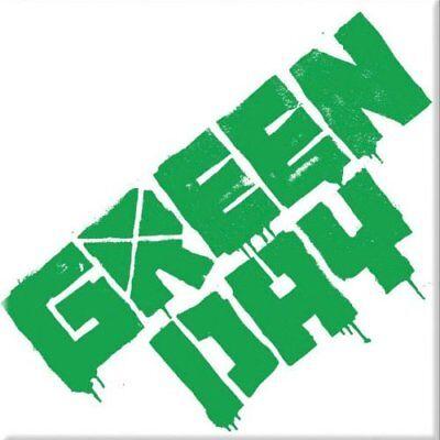 Green Day Fridge Magnet Calamita Logo Official Merchandise Numerosi In Varietà