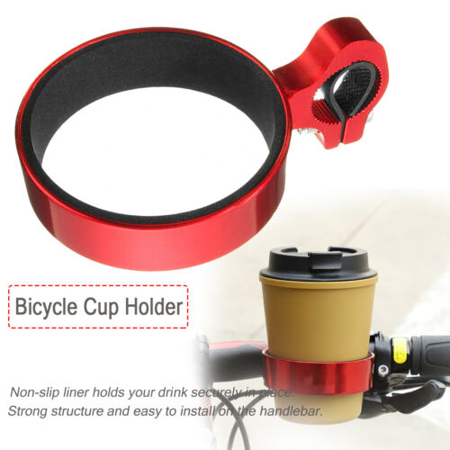 Aluminum alloy  Water Cup Holder Motorcycle Coffee Drink Bottle Cup Bike