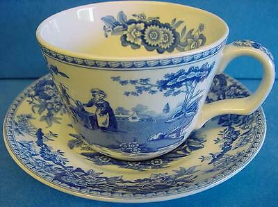 Copeland Blue Spode Tower Saucer For Tea Cup Fine China Replace