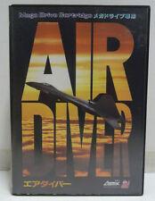 AIR DIVER - SEGA MEGA DRIVE MD NTSC JAPAN BOXED