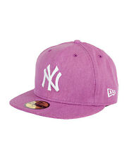NEW ERA AUTHENTIC NEW YORK YANKEES CAN-O-POP PURPLE LILAC HAT CAP 59FIFTY  7 3/4