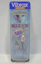 Blue Fox Super Vibrax 1/8 Rainbow Trout Treble Hook Troll Fishing Lure 4 grams