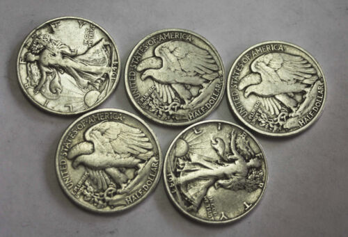 1944-s Walking Liberty Half Average Grade of Coin You Receive is Photographed