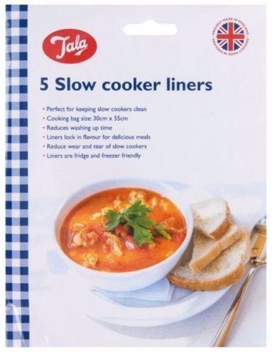 Tala Plaque à micro-ondes Vapeur cuisson toasta lente Liner sacs de viande poisson légumes Cooki
