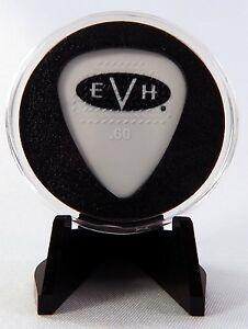 eddie van halen evh 2014 guitar pick with made in usa display case easel ebay. Black Bedroom Furniture Sets. Home Design Ideas