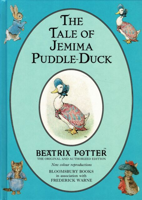 The Tale of Jemima Puddle-Duck  By BEATRIX POTTER ~ New Colour Reproduction
