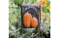 Fairy Garden Miniature Welcome Fall Sign Mini Dollhouse