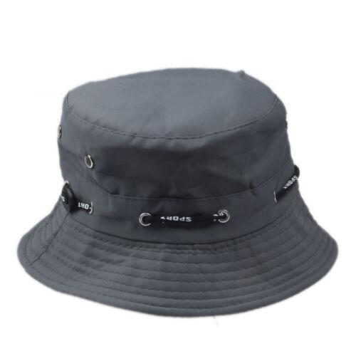 Unisex Bucket Hat Boonie Flat Hunting Fishing Outdoor Summer Cap 100/% Cotton