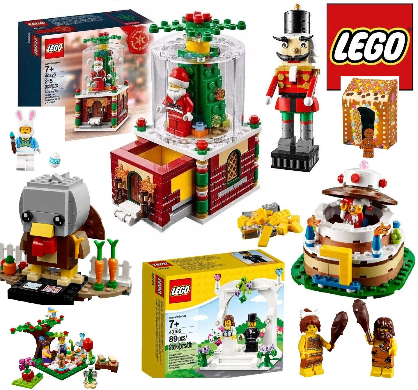 LEGO HOLIDAY & Event LIMITED -  SET ESCLUSIVI STAGIONALI PER RICORRENZE specialeeI  vendita scontata online di factory outlet