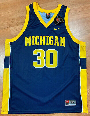 Michigan Wolverines Deadstock Jersey Size Large NBA