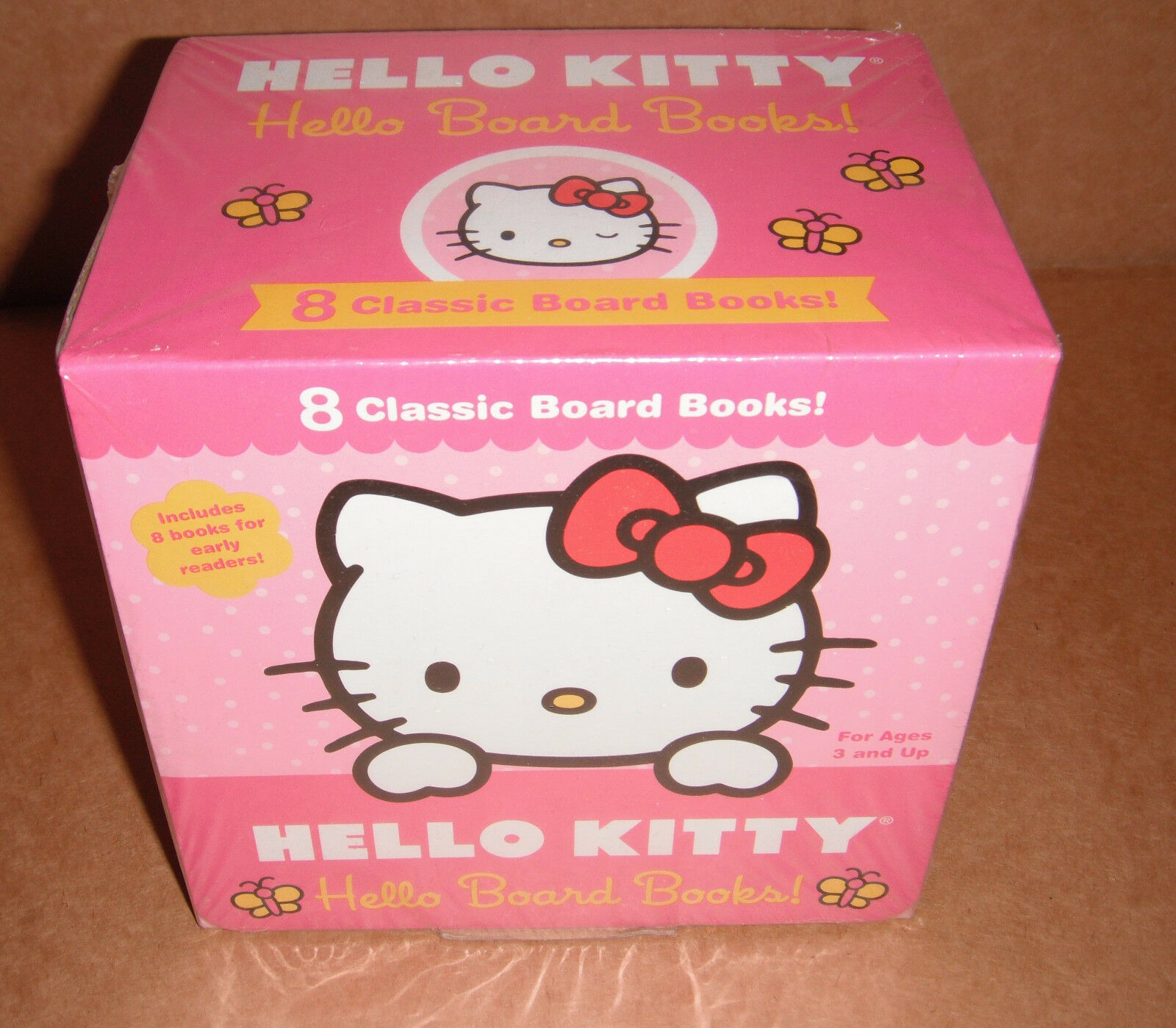 Hello Kitty Sanrio Set of 8 Classic Board Books