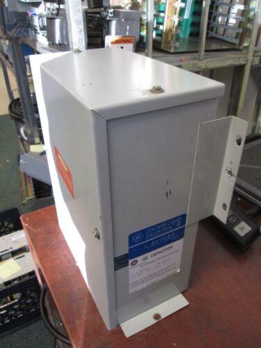 GE Capacitor 65L825TA1 50 KVAR 480V 3Ph No PCB/'s Used