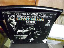 Garrick Ohlsson Chopin Part 2 Piano Concerto LP Connoisseur Society Records EX