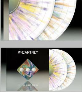 Paul McCartney III Imagined Exclusive Splatter 2LP SOLD OUT  PRE-ORDER CONFIRMED