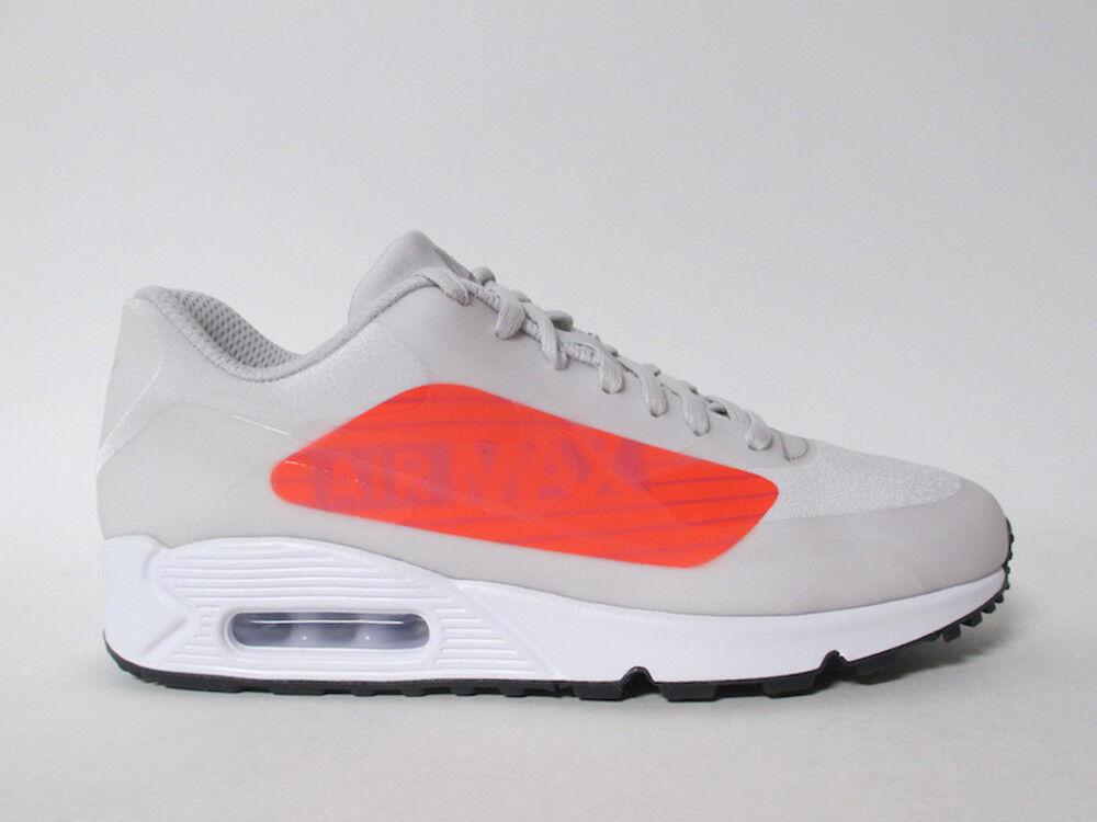 b61ab44d57 Nike Air Max 90 NS GPX Big Logo Grey Bright Crimson White Black 11.5 AJ7182-