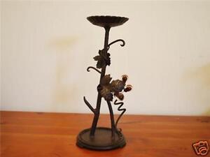 Cast-Iron-Antique-Vine-Table-Candle-Holder