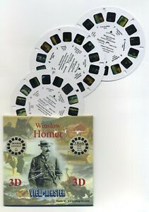 Winslow Homer View-Master 3-Reel Packet Mint Cond.