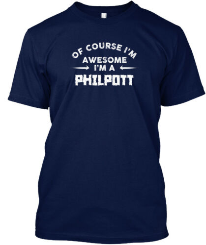 Awesome Philpott Name T Hanes Tagless Tee T-Shirt