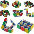 Snake Rubiks Rubix Rubic Magic 3D Cube Game Puzzle Toy Party Travel Family Child