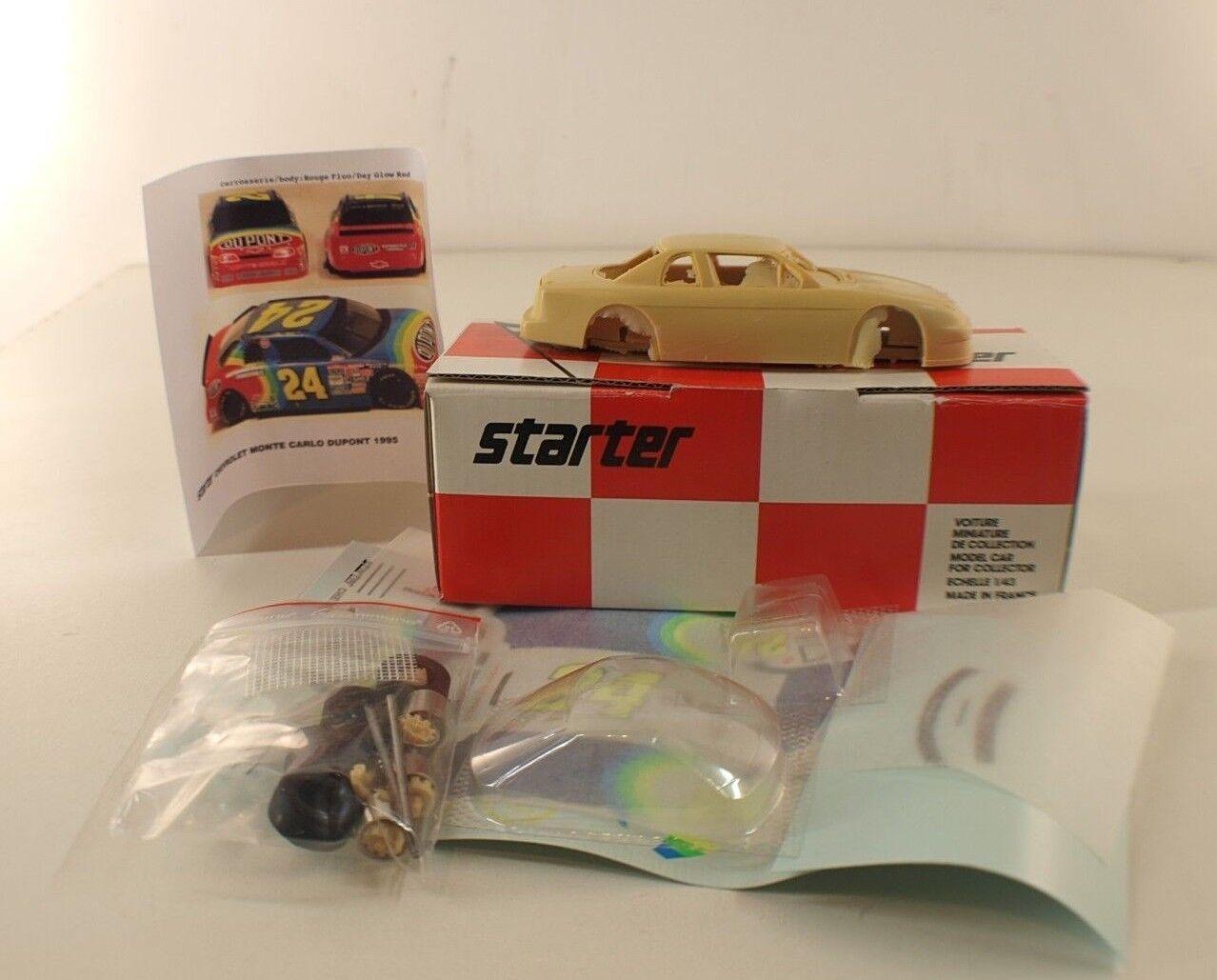 Starter CHE053 Chevrolet Monte Carlo Dupont Monte Carlo 1995 kit neuf mint 1 43