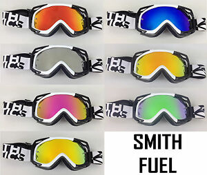 SMITH-OPTICS-MOTOCROSS-MX-GOGGLE-CHROME-MIRROR-LENS-to-fit-FUEL-V1-V2-bmx-mtb