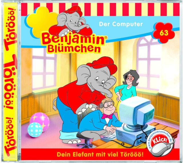 Benjamin Blümchen - Folge 63 - Der Computer - Hörspiel - CD - *NEU*