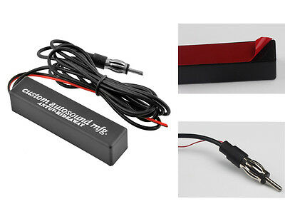 Stereo Radio AM FM Hidden Amplified Antenna 12v Universal For Car Truck Vehicle