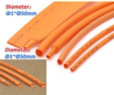 1mm50mm 21 Orange Heat Shrink Heatshrink Shrinkable Tube Tubing Wire Sleeving