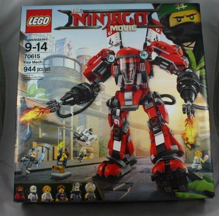 LEGO The LEGO Ninjago Movie Fire Mech 2017  (70615) nouveau NISB  magasiner en ligne aujourd'hui