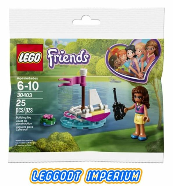 LEGO Friends - Olivia's Remote Control Boat Polybag - 30403 FREE POST