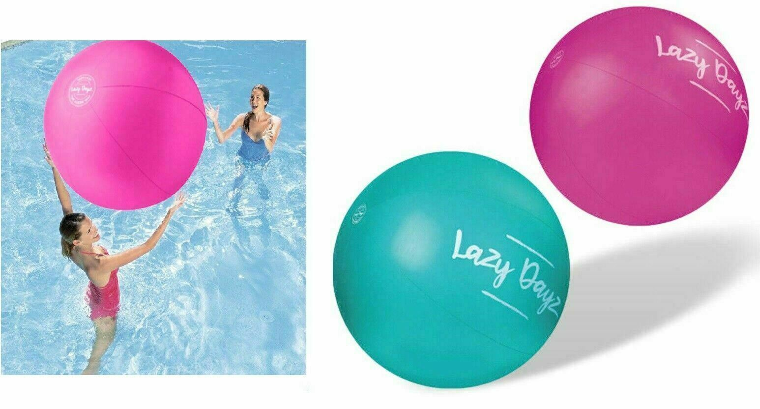 Inflatable Jumbo Beach Ball Pool Party Toy Kid Adult Water Game Outdoor 90cm AU