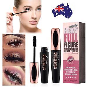 Black-4D-Silk-Fiber-Eyelash-Mascara-Extension-Makeup-Waterproof-Kits-Eye-Lashes