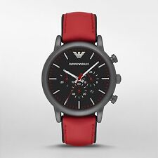 Emporio Armani Men's AR1971 Black Resin Quartz Dress Watch
