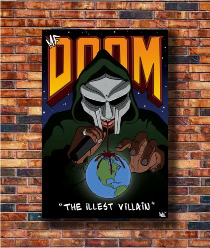 New MF Doom Daniel Dumile Super Villain Poster 14x21 24x36 Art Gift X-1905