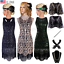Retro-1920s-Flapper-Dress-Gatsby-Party-Wedding-Evening-Roaring-20s-Prom-Costume thumbnail 1
